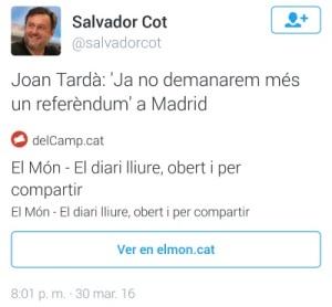 tarda referèndum